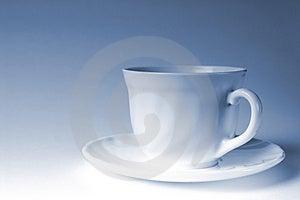 White Mug Of Coffee Stock Photos - Image: 2609243