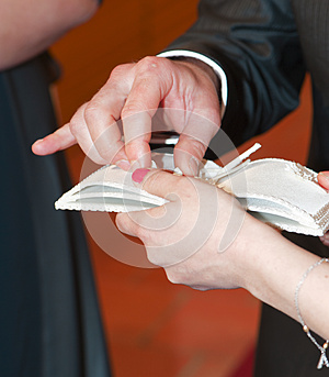 Wedding Rings Royalty Free Stock Images - Image: 26011029