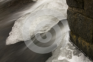 Frozen River Royalty Free Stock Image - Image: 26011496
