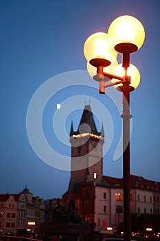 Night In Prague Royalty Free Stock Images - Image: 26013989