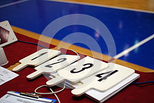 Number Boards Stock Photo - Image: 26025910