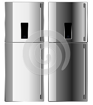Vector Of The Refrigerator Stock Image - Image: 26026851