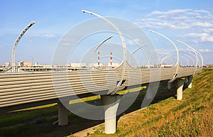 Junction Of Highways Stock Image - Image: 26034181