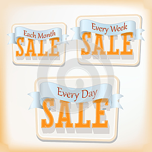 Discount Labels. Vector Stock Photography - Image: 26058032