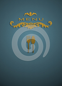 Menu Cover Stock Images - Image: 26063264