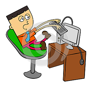 Busy Work Royalty Free Stock Images - Image: 26071549