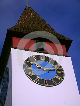 Clock Tower Royalty Free Stock Photography - Image: 26072107