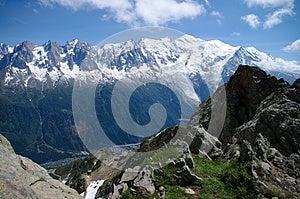 Mont-Blanc Massive Royalty Free Stock Image - Image: 26073186