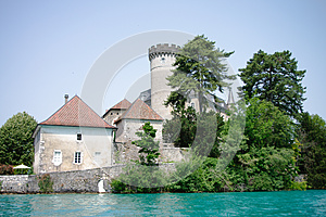 Chateaux De Duingt In Annecy Stock Photography - Image: 26073212