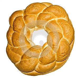 Knot Shaped Bread Stock Photography - Image: 26073612