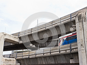Sky Train Stock Photography - Image: 26075362