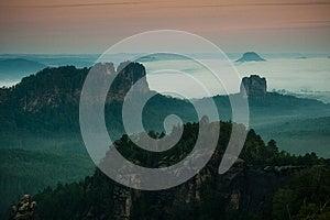Morning Inversion Royalty Free Stock Image - Image: 26076136