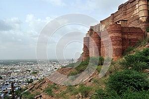 Majestic Mehrangarh Fort Royalty Free Stock Photo - Image: 26079325