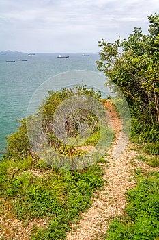 Viewpoint Walk Way Stock Photo - Image: 26083840