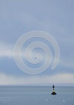 Buoy On The Sea Stock Photo - Image: 26084500