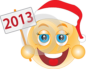 Smile New Year's Eve, Christmas Day. Smile. Royalty Free Stock Photo - Image: 26091425