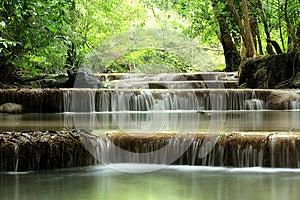 Erawan Waterfall Stock Image - Image: 26092851