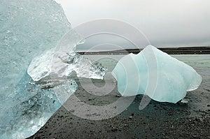 Pure Melting Ice. Stock Images - Image: 26092854