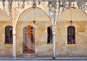Arches Of Beit El Dine Royalty Free Stock Image - Image: 26099316