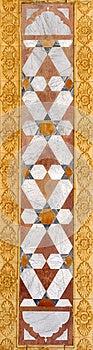 Rectangular Ornament Stock Image - Image: 26099401