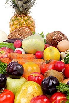Diference fruits Royalty Free Stock Image