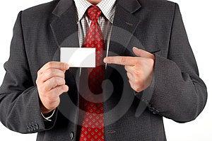 Visiting card #5 Royalty Free Stock Photo