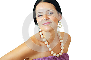Brunette Woman Posing Stock Images - Image: 26102984