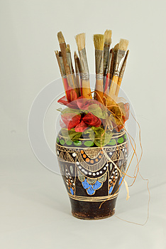Paintbrushes Stock Photography - Image: 26104382