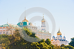 The Kremlin, Moscow, The Kremlin Palace Royalty Free Stock Photography - Image: 26106817