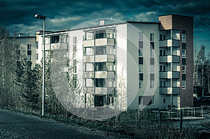 Apartment Complex  Royalty Free Stock Photo - Image: 26111945
