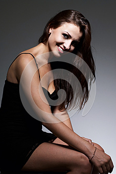 Young Beautiful Brunette Royalty Free Stock Image - Image: 26116676