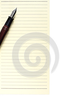Pen On Notebook Stock Images - Image: 26121034