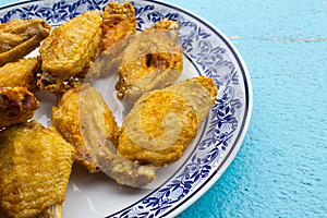 Fried Chicken Wings Royalty Free Stock Photography - Image: 26123777