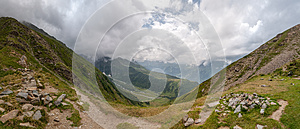 Alps, France (Col De Tricot) - Panorama Stock Photography - Image: 26125412