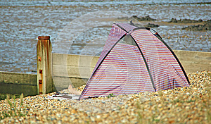 Beach Tent Royalty Free Stock Photos - Image: 26146418