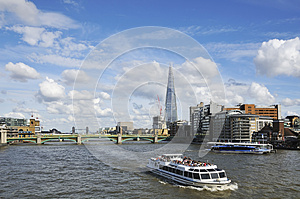London UK And River Stock Photography - Image: 26163572