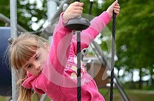 Fun On Playground Stock Image - Image: 26168111