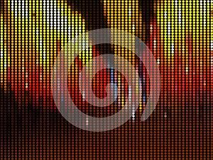Light Mosaic Background Royalty Free Stock Image - Image: 26168696