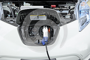 Electric Car Royalty Free Stock Photography - Image: 26171737