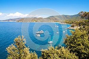 Beautiful Coastlines In Elba Island. Italy Stock Photography - Image: 26172362