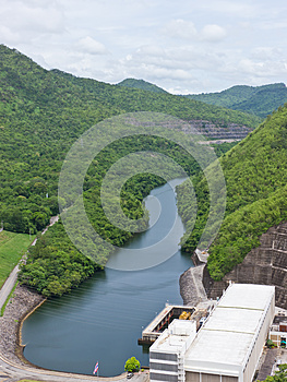 Electricity Power Station Royalty Free Stock Photos - Image: 26180688