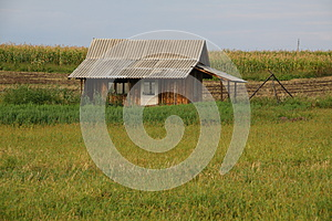Lonely House Royalty Free Stock Photos - Image: 26188178