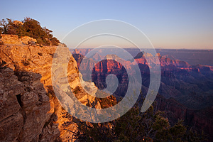 Grand Canyon North Rim Stock Photo - Image: 26189570