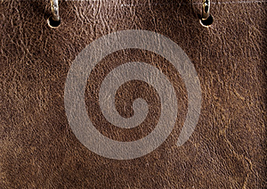 Brown Leather Royalty Free Stock Image - Image: 26192176