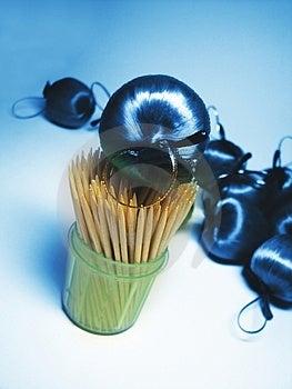 Blue Apple 2 Stock Image - Image: 2625251