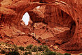 Huge arches, Arches park Free Stock Image