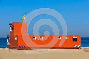Lifeguard Stand Stock Image - Image: 26212691