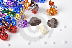 Colorful Chocolates Royalty Free Stock Photography - Image: 26213567
