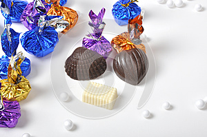 Colorful Chocolates Royalty Free Stock Photo - Image: 26213585