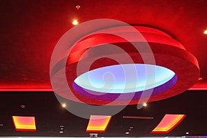 Indicatori Luminosi Di Soffitto Fotografia Stock Libera da Diritti - Immagine: 26217225